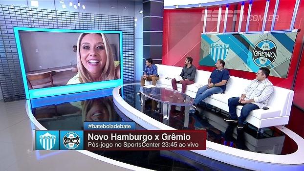 Apresentadora do SBT RS analisa boa campanha de times pequenos no Campeonato Gaúcho