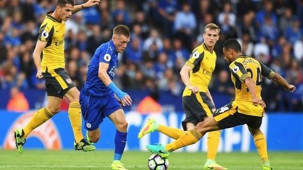 Resultado de imagem para Leicester x Arsenal