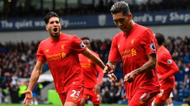 Premier League: Gol de West Bromwich 0 x 1 Liverpool