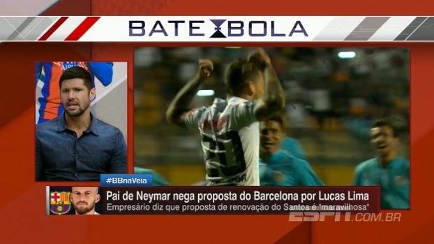Fábio Luciano: 'Em alto nível, o jogo do Lucas Lima encaixa no Barcelona'
