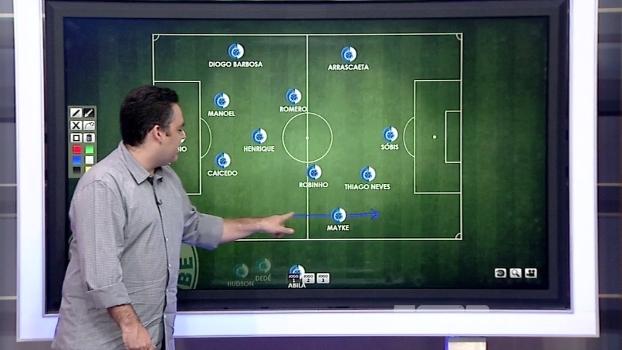Robinho, Arrascaeta, T. Neves, Sóbis: Bertozzi analisa várias possibilidades de escalação do Cruzeiro