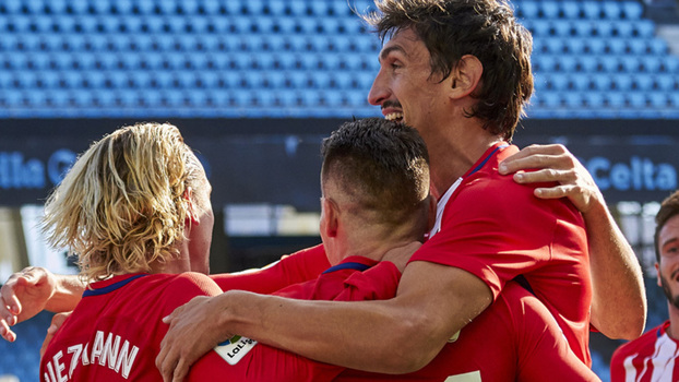 LaLiga: Gol de Celta de Vigo 0 x 1 Atlético de Madrid