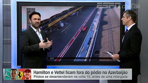 Victor Martins explica atrito entre Vettel e Hamilton: 'Parece a 5ª série'
