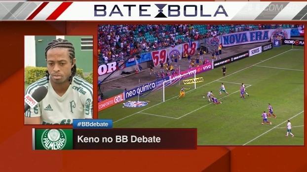 Confiante, Keno revela pedido de Cuca quando técnico voltou ao clube; veja qual foi
