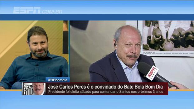 Presidente do Santos fala da relação com organizadas e diz que futebol feminino será fortalecido: 'Questão de honra'