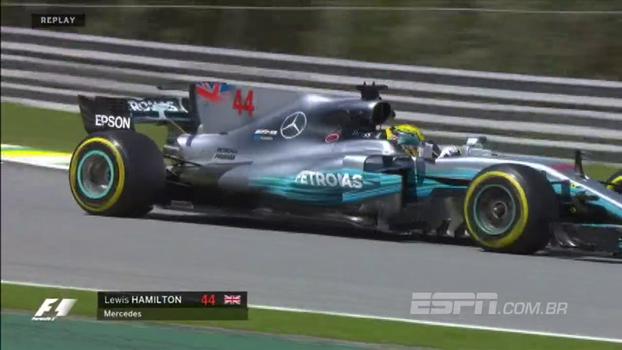 Hamilton domina treinos livres do GP Brasil de Fórmula 1; veja