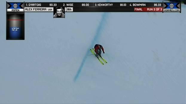A medalha de Bronze de Alex Ferreira no Ski SuperPipe Masculino