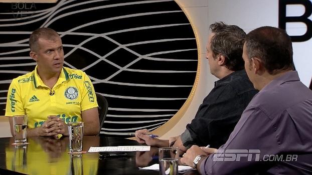 Eduardo Baptista comenta o planejamento do Palmeiras e diz que participou da negociação de alguns jogadores
