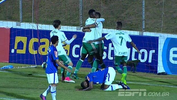 Palmeiras vence Cruzeiro na estreia no Brasileiro Sub-20