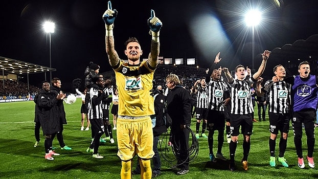 Copa da França: Gols de Angers 2 x 0 Guingamp