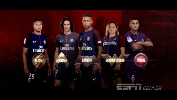 Neymar se transforma em 'Neybatman' em nova propaganda de filme de heróis