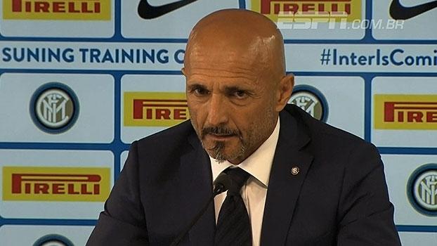 Luciano Spalletti é apresentado na Internazionale: 'Clube cheio de história, quero viver isso profudamente'