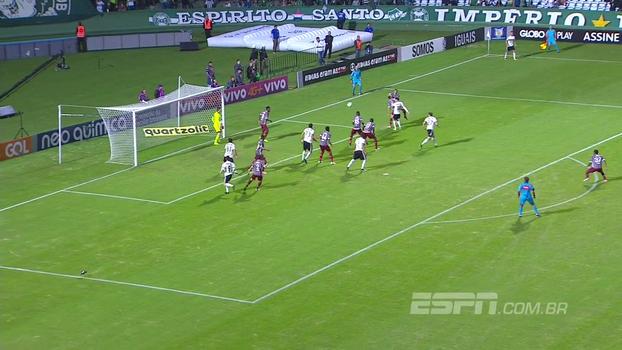Brasileiro: Gols de Coritiba 1 x 2 Fluminense