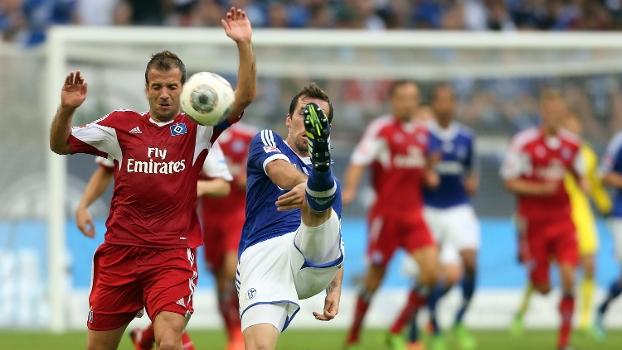 Assista aos gols do empate entre Schalke 04 e Hamburgo
