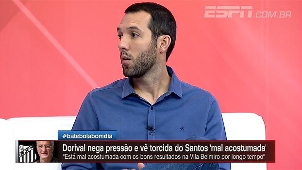 Para Hofman, empate contra Ituano mostrou diferença de qualidade no elenco do Santos