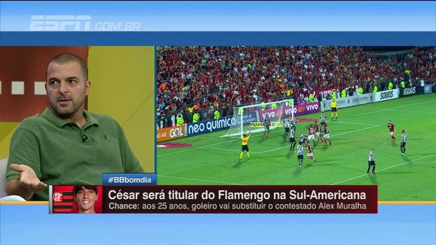 Zé Elias sugere trabalho à parte com Muralha: 'Existe o humano, mas é um produto do Flamengo'