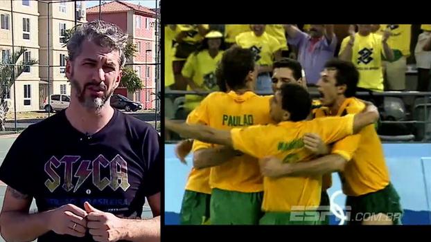 25 anos em família: por um ângulo diferente, reviva a 1ª medalha de ouro do Brasil em esportes coletivos