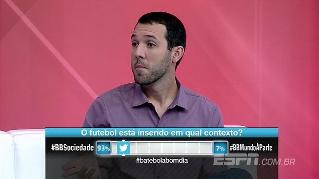 Hofman: 'Fico assustado com uma sociedade que critica o Rodrigo Caio por ter feito o certo'