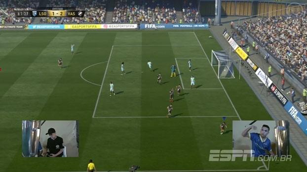 Jogando com o Vasco, Michel Ribeiro conquista o título do FIFA 17 Hero League no Xbox