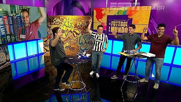 Por camisa de Will Grigg, Bertozzi canta música no 'FNM', e João Castelo promete autógrafo