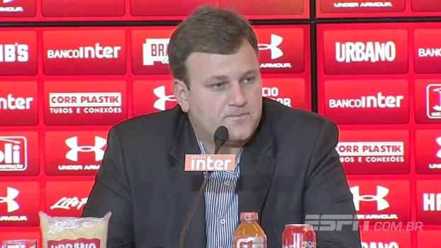 Diretor do São Paulo diz que clube está próximo de dois reforços e fala sobre negociação por Petros