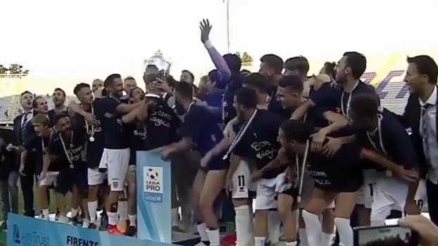 3ª divisão do Italiano: Gols de Parma (campeão) 2 x 0 Alessandria