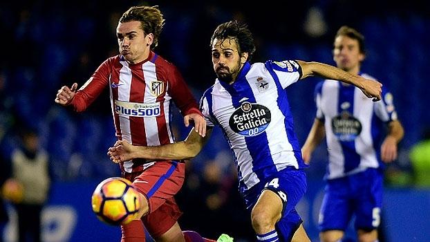 LaLiga: Melhores momentos de Deportivo La Coruña 1 x 1 Atlético de Madri