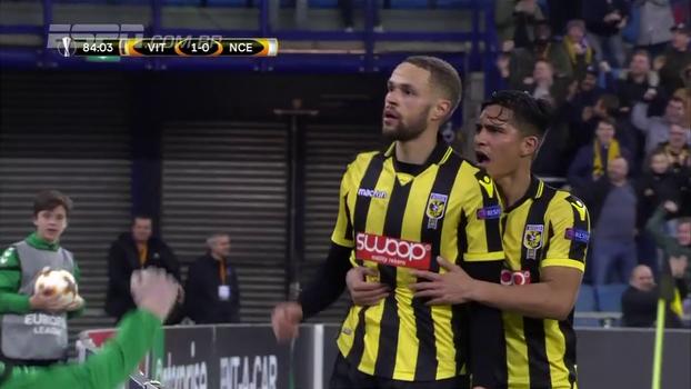 Assista ao gol da vitória do Vitesse sobre o Nice por 1 a 0!