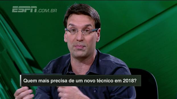 Arnaldo aprova escalação de Felipe Melo contra o Fla: 'Em situações tensas, alguns jogadores estão mais preparados'