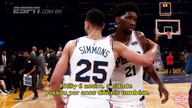 Com Embiid e Simmons, veja como 'acreditar no processo' fez Philadelphia voltar a amar o basquete
