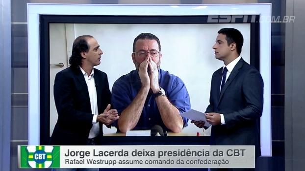 Jorge Lacerda deixa CBT; Rafael Westrupp assume e, para Meligeni, precisa passar confiança