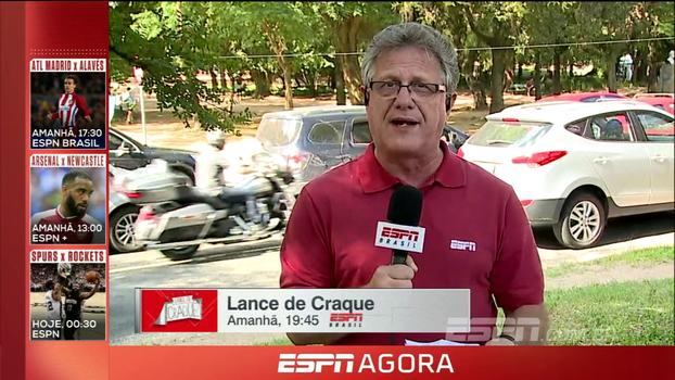 De Porto Alegre, Cícero Mello traz o clima gremista e as notícias do jogo beneficente de D'Alessandro