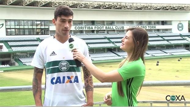 Rildo promete muita vontade e diz que Carpegiani saberá explorar suas características no Coritiba