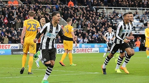 EFL Championship: Gols de Newcastle 4 x 1 Preston North End