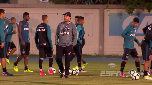 Buscando formação entre os desfalques, Jair Ventura prepara o Botafogo para decisão com o Flamengo