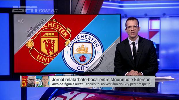 Socos e garrafadas: André Kfouri explica suposta briga entre Mourinho e brasileiro após United x City