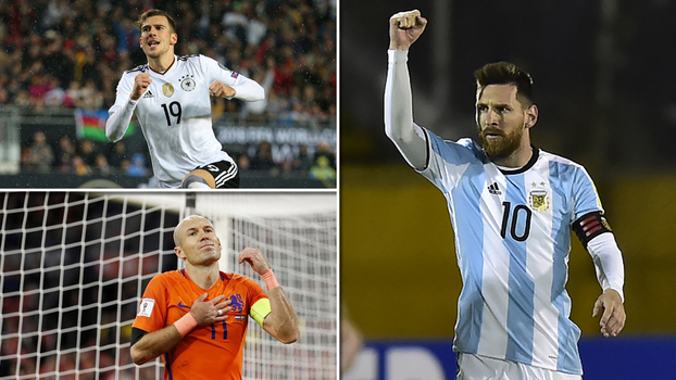 Cobertura de Messi, pauladas de muito longe e mais: veja os golaços da última rodada das Eliminatórias