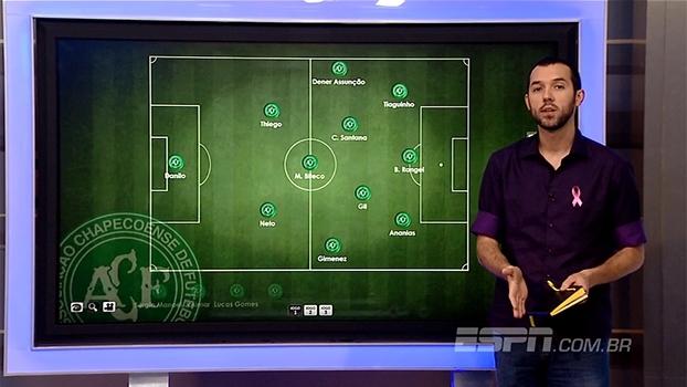 Gustavo Hofman analisa taticamente o 'jogo quase-perfeito' da Chapecoense
