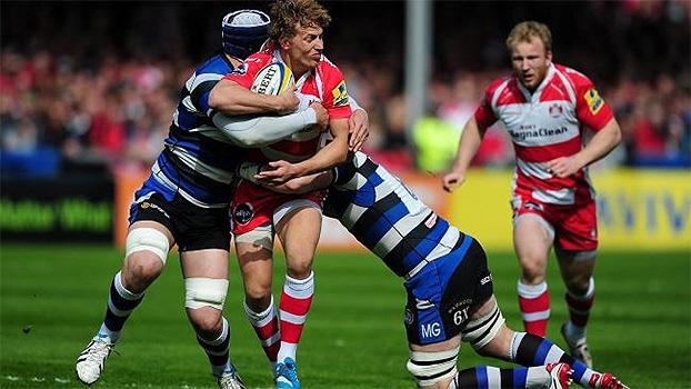 Veja os melhores momentos de Bath Rugby 18 x 17 Gloucester Rugby pela Aviva Premiership
