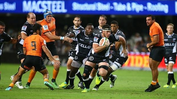 Sharks vencem Jaguares e mantêm invencibilidade no Super Rugby