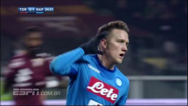 Allan e Jorginho dão assistências, Napoli atropela o Torino e volta à liderança do Campeonato Italiano