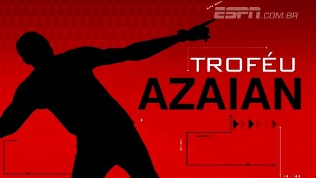 Troféu Azaian: veja as melhores comemorações do fim de semana no Brasileiro