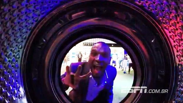 Ex-Barcelona, Abidal é desafiado a fazer gol em máquina de lavar