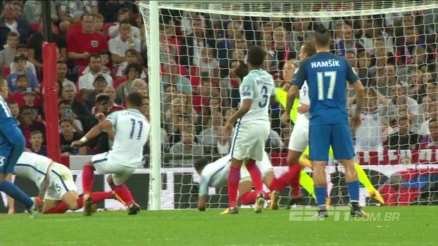 Assista aos melhores momentos da vitória da Inglaterra sobre a Eslováquia por 2 a 1!