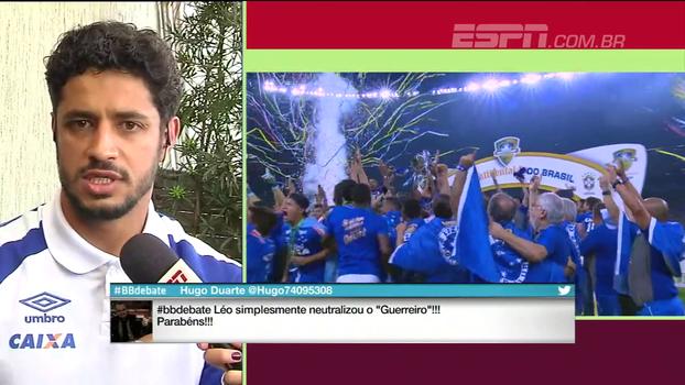 Léo analisa mudanças na zaga do Cruzeiro: 'Fomos evoluindo com o de acordo com a competição'