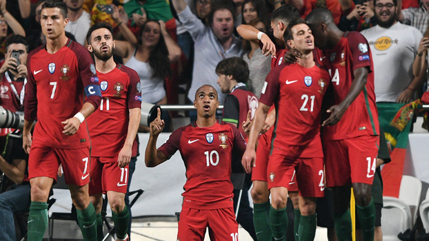 c12a0aa23b45a Eliminatórias Europeias  Melhores momentos de Portugal 2 x 0 Suíça