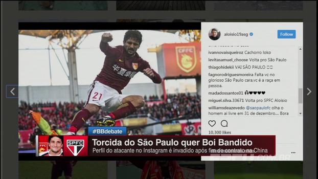 Contrato na China acabando: Nicola revela se objetivo de Aloísio 'Boi Bandido' é ou não voltar para o Brasil