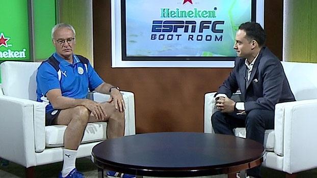 Ranieri sobre Leicester na Champions: 'Estou curioso sobre o que vamos fazer'