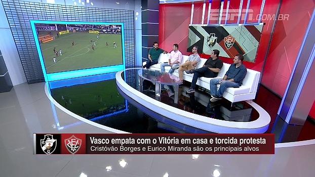 Maurício Barros: 'Vasco não tem mostrado capacidade de fazer uma campanha digna no Brasileiro'