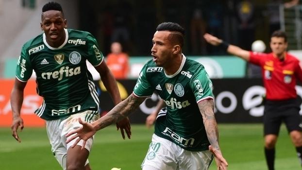 Brasileiro: Gols de Palmeiras 2 x 1 Coritiba